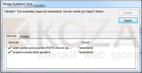Yandex Outlook 2010 Kurulumu