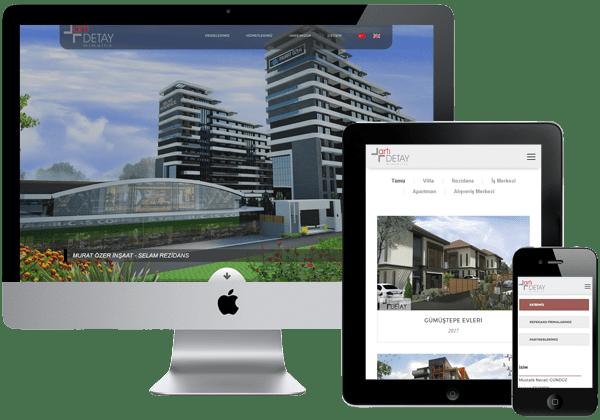 Artı Detay Mimarlık Web Tasarım