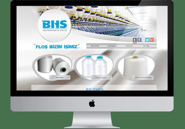 BHS Tekstil Web Tasarım
