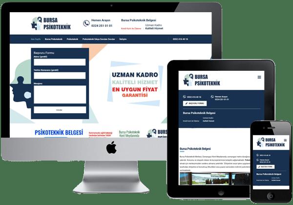 Bursa Psikoteknik Web Tasarım
