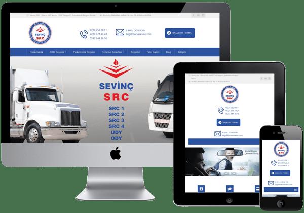 Bursa Sevinç SRC Web Tasarım