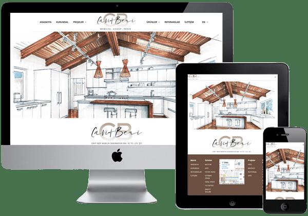 Cavit Beri Mobilya Dekorasyon Web Tasarım